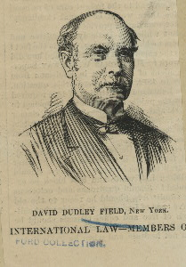 David Dudley Field, leading member of the New York commission that drafted the Field Code of 1850. Image from the [New York Public Library](http://digitalcollections.nypl.org/items/510d47df-a7c9-a3d9-e040-e00a18064a99).