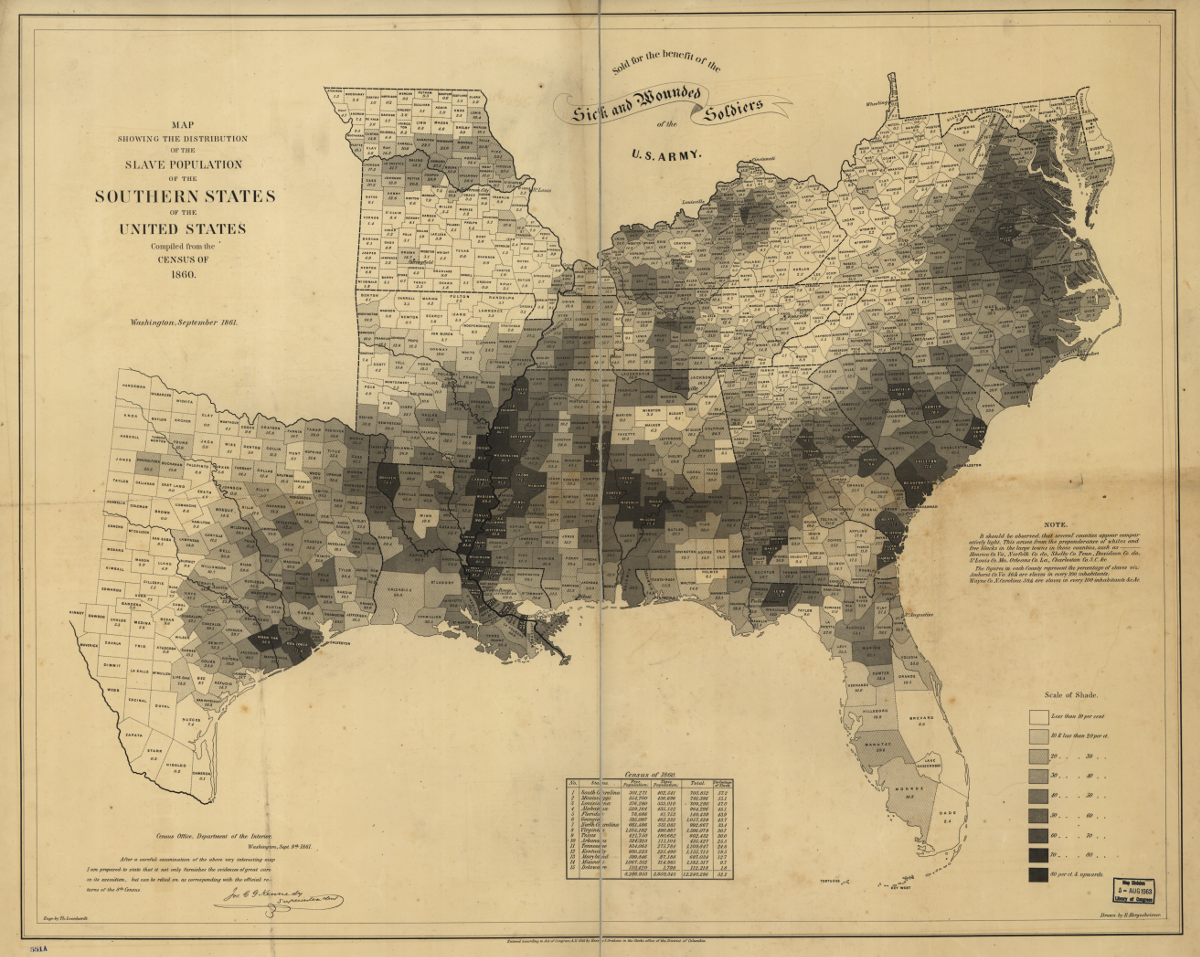 Fox Home Mapping The Spread And Distribution Of US Slavery